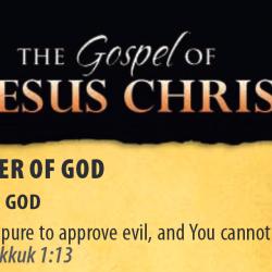 Evangeliet om Jesus Kristus