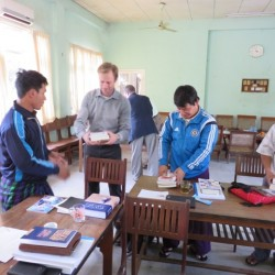 Evangeliets tillväxt i norra Myanmar