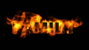 stock-footage-fire-family-word-fire-text