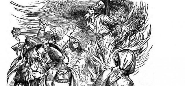 Idag är det 600 år sedan Jan Hus led martyrdöden