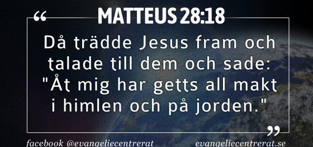 Matteus 28:18